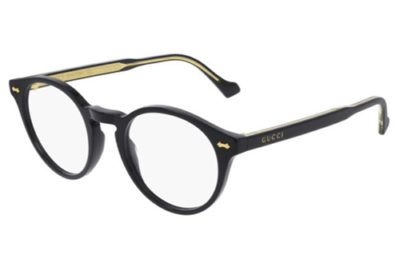Gucci GG0738O 001 black black transpare 48 Unisex Eyeglasses