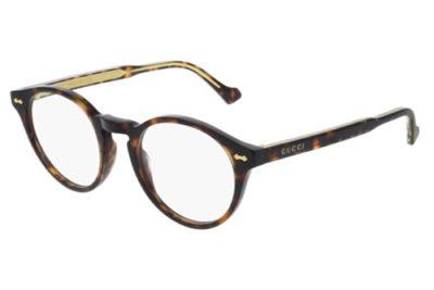 Gucci GG0738O 002 havana havana transpa 48 Unisex Eyeglasses