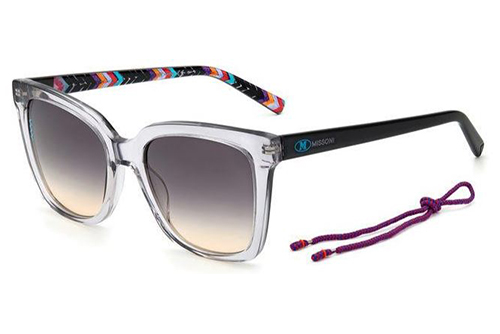 Missoni Mmi 0003/s KB7/GA GREY 53 Women's Sunglasses