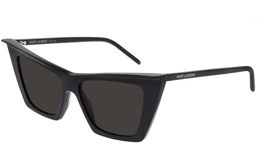Saint Laurent SL 372 001 black 54 Women's Sunglasses
