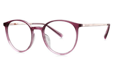 Bolon BJ3065B50 crystal purple rose 50 Women's Eyeglasses