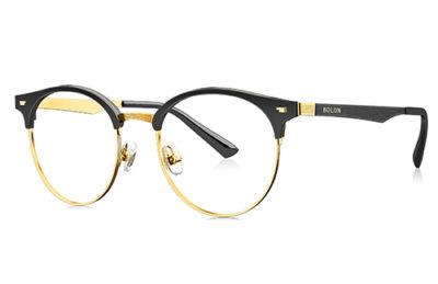 Bolon BJ6037B12 black/gold 50 Eyeglasses