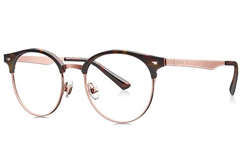 Bolon BJ6037B20 tortoise rosy gold 50 Eyeglasses