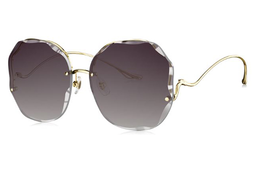Bolon BL7098A60 light gold 61 Women's Sunglasses