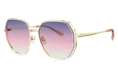 Bolon BL7128A62 light gold 58 Women's Sunglasses