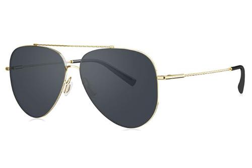 Bolon BL8076C60 light gold 59 Unisex Sunglasses