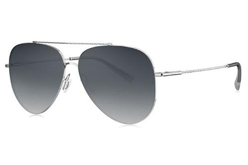Bolon BL8076C90 silver 59 Unisex Sunglasses