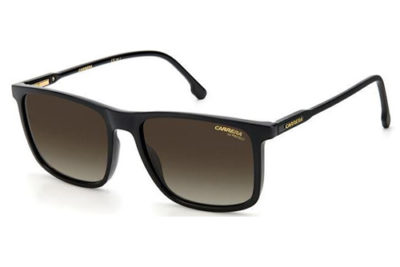 Carrera Carrera 231/s R60/HA BLACK BROWN 55 Unisex Sunglasses