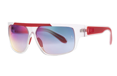 Locman LOCS002/CRY crystal red 63 Sunglasses