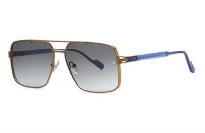 Locman LOCS030/RGO rose gold 59 Sunglasses