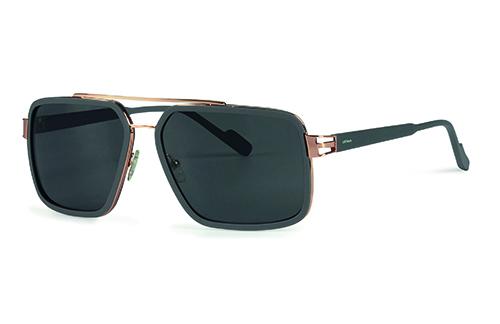 Locman LOCS001/03 grey rose gold 60 Sunglasses