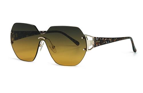 Locman LOCS009/01 gold/demi 135 Sunglasses