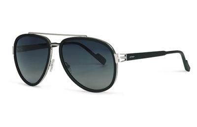 Locman LOCS010/01 black silver 59 Sunglasses