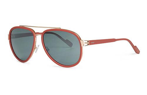Locman LOCS010/02 bordeaux black 59 Sunglasses