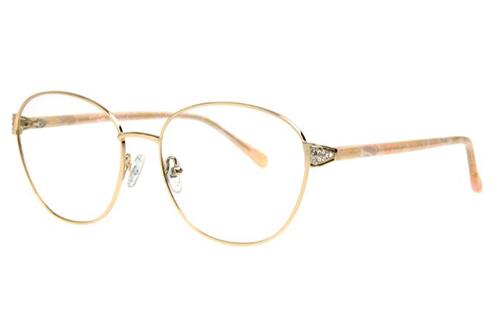 Locman LOCV004/GLD gold 58 Women's Eyeglasses