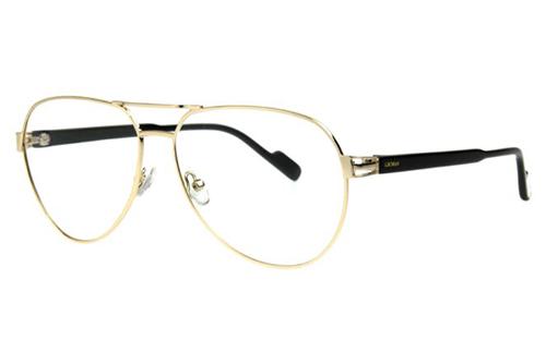 Locman LOCV011/GLD gold 60 Unisex Eyeglasses