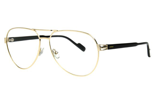 Locman LOCV012BIS/GLD gold 59 Unisex Eyeglasses