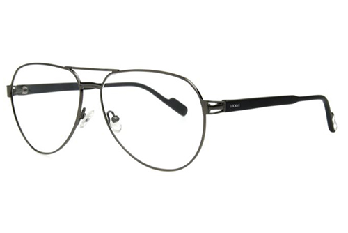 Locman LOCV012BIS/SLV palladium 59 Unisex Eyeglasses