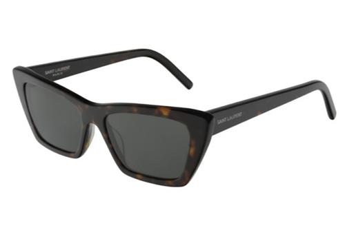 Saint Laurent SL 276 MICA 002 havana havana grey 53 Women's Sunglasses