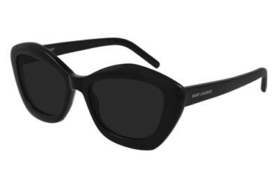 Saint Laurent SL 68 001 black black black 54 Women's Sunglasses