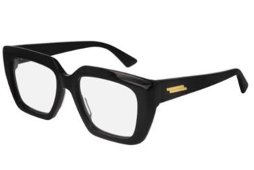 Bottega Veneta BV1032O 001 black transpare 52 Women's Eyeglasses