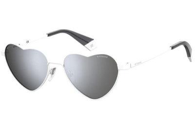 Polaroid Pld 6124/s VK6/EX WHITE 54 Women's Sunglasses