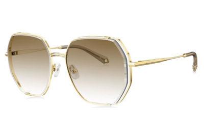 Bolon BL7128A61 light gold 58 Sunglasses