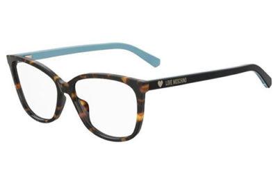 Moschino Mol546 ISK/14 HAVAN AZURE 55 Women's Eyeglasses