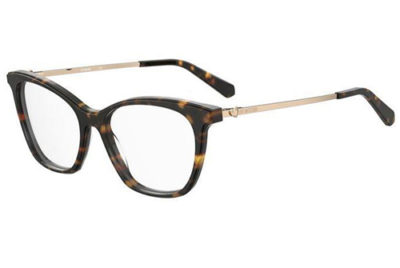 Moschino Mol579 086/16 HAVANA 53 Women's Eyeglasses