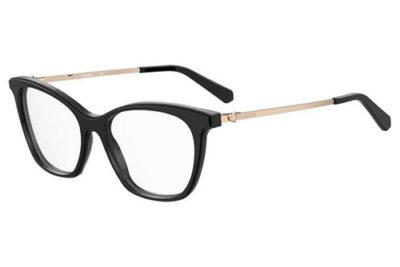 Moschino Mol579 807/16 BLACK 53 Women's Eyeglasses