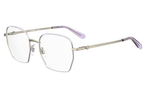 Moschino Mol580 S9E/19 GOLD VIOLET 52 Women's Eyeglasses