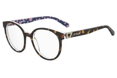 Moschino Mol584 086/18 HAVANA 52 Women's Eyeglasses