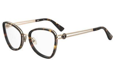 Moschino Mos584 086/20 HAVANA 52 Women's Eyeglasses