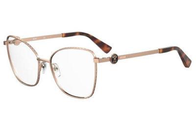 Moschino Mos587 DDB/16 GOLD COPPER 53 Women's Eyeglasses